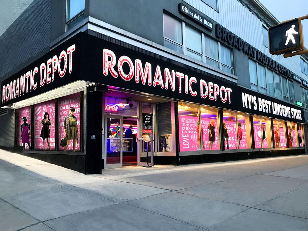 Romantic Depot  – MANHATTAN